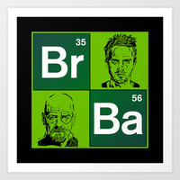 "The Breaking Bad ""colage"" Art Print by Nostromo"