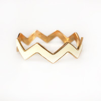 Chevron Cuff-FINAL SALE