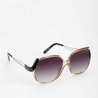 Femme Fatale Oversized Sunglasses- Black Multi One