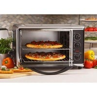 Large Capacity Convection Toaster/Broiler Oven, Chrome