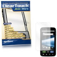 BoxWave Motorola Atrix 4G ClearTouch Anti-Glare Screen Protector - Premium Quality Anti-Glare, Anti-Fingerprint Matte Film Skin to Shield Against Scratches (Includes Lint Free Cleaning Cloth and Applicator Card) - Motorola Atrix 4G Screen Guards
