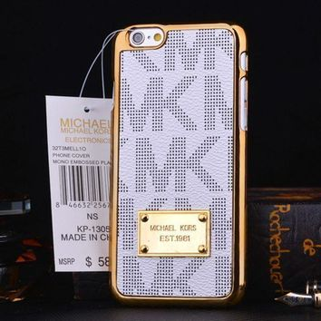 Gotopfashion MK Phone case for The metal frame iPhone 5/6/6S/7/7plus