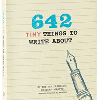 642 Tiny Things to Write About Journal