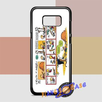 Calvin And Hobbes Comics Trip Samsung Galaxy S8 Plus Case Planetscase.com