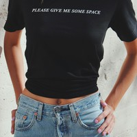 Please Give Me Some Space Tee