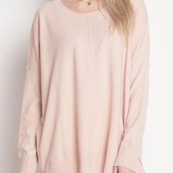 Exposed Seam Sweater
