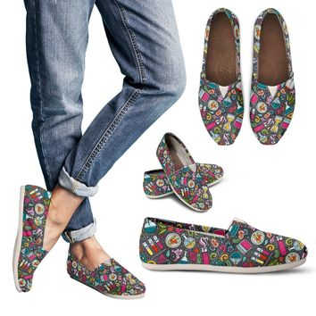 Cartoon Science Casual Shoes-Clearance