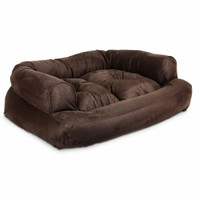 Snoozer Overstuffed Sofa Pet Bed