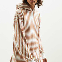 UO Colin Striped Thermal Hooded Long Sleeve Tee | Urban Outfitters