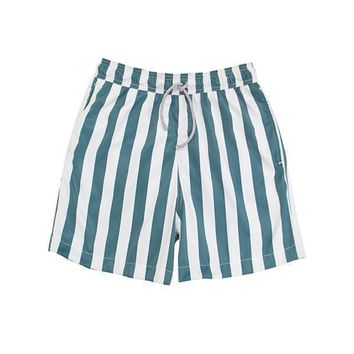 MAYLANA Kona Ocean's Stripes Trunks