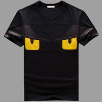 Summer Short Sleeve T-shirts Round-neck Stylish Couple Bottoming Shirt [6542296259]