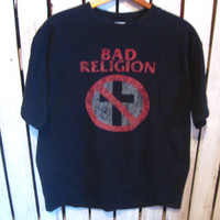Bad Religion T-Shirt, Size Large