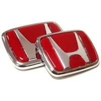Quality Red Honda Type R Emblem Set CIVIC ACCORD INTEGRA | AihaZone Store