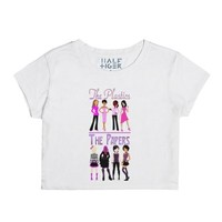 The Plastics and The Papers-Female Snow T-Shirt