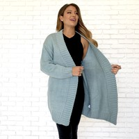 Skies Are Blue Knit Cardigan