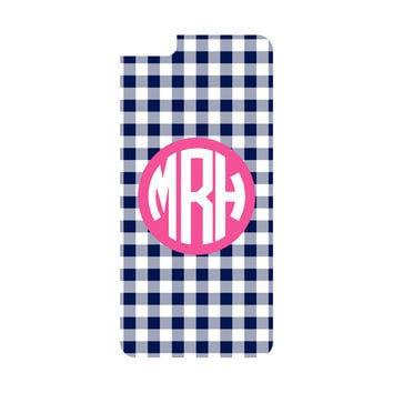 Navy Gingham iPhone 6/6s Plus Case (Apple)