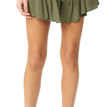 Jack by BB Dakota Calla Drapey Shorts