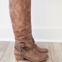 Not Rated Thorns Boot - Taupe