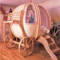Fantasy Coach – the Cinderella Pumpkin Carriage Bed | 2dayBlog - Technology Journal, New Gadget everyday!