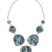 Rebecca Statement Necklace in Abalone Shell - Kendra Scott Jewelry