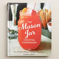"""The Mason Jar Cocktail Companion"" Recipe Book"