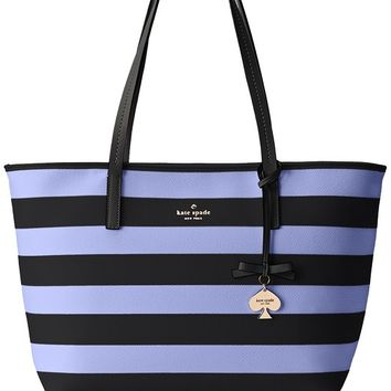 kate spade new york Hawthorne Lane Ryan Shoulder Bag, Black/Thistle, One Size