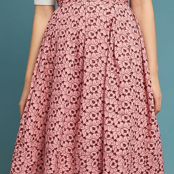 Gardenia Pleated Skirt