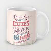Paper Towns: Cities and People Mug by Risa Rodil