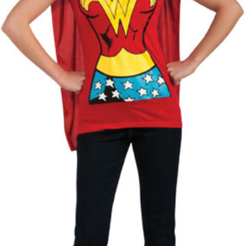 Costume Accessory: Shirt Wonder Woman | Small