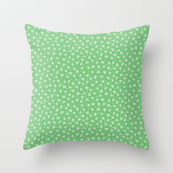 She sells sea shells Throw Pillow by Leanne Friedberg