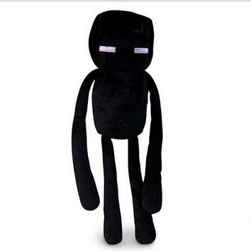 My World Minecraft Black Enderman Stuffed Plush Toy Game Roles Model Cartoon animal Doll Kids Children Gift High Quality