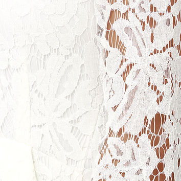 Love Letter Ivory Lace Dress