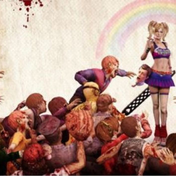 Lollipop Chainsaw Decoration Canvas silk Poster