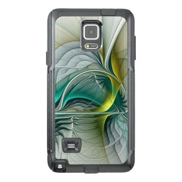 Fractal Evolution, abstract Art OtterBox Samsung Note 4 Case
