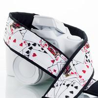 127 Playing Cards Camera Strap