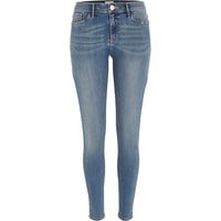 River Island Womens Mid wash Molly jeggings