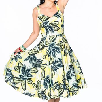 Vera Dress in in Tropical Rayon