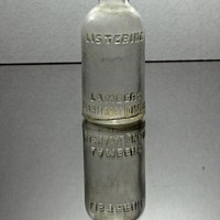 Vintage Small Glass Listerine Bottle
