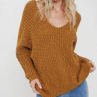 Hang With Me Sweater - Goldenrod