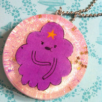 Lumpy space princess necklace adventure time lsp only one available