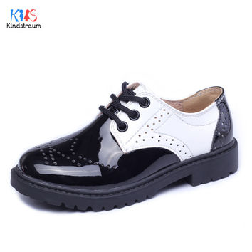 Unisex Children Leather Shoes