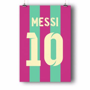 Lionel Messi Number 10 Cotton Candy Jersey