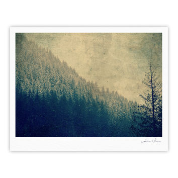 "Robin Dickinson ""Any Road Will Do"" Mountain Tree Fine Art Gallery Print"