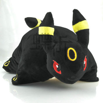40*30cm Pokemon Go Crystal Version Umbreon Eevee Plush Doll Toy For Gift Mythical Pokemon go High Quality Free Shipping