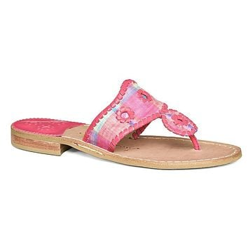 Kyra Sandal in Madras by Jack Rogers - FINAL SALE