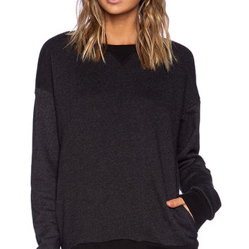 Hye Park and Lune Amor Sweatshirt in Charcoal