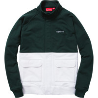Supreme: Fleece Warm Up Jacket - Dark Pine
