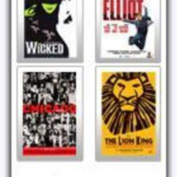 Broadway Posters and Window Cards