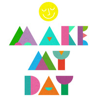 """Nick Nelson's """"Make My Day"""" wall decal"""