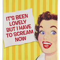 It's Been Lovely Dish Towels Funny Retro Kitchen Towels RetroPlanet.com